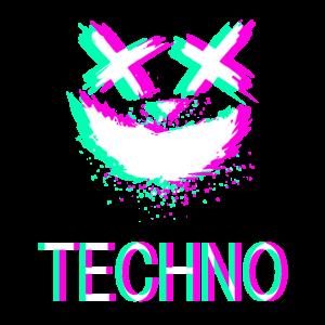 Techno Rave Festival Synth Party Emma Glitch