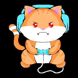 Gaming Cat - Katze