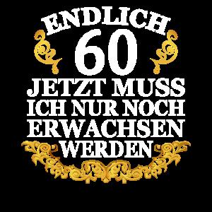 60 Jahre Geschenk 60 Geburtstag Birthday