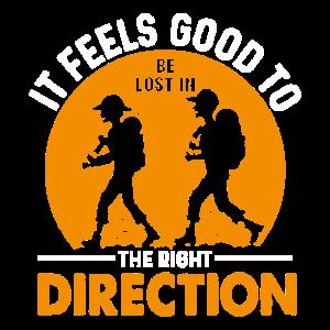 Es fühlt sich gut an, in die richtige Richtung