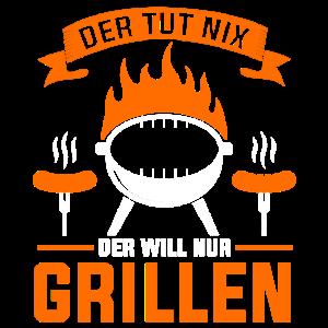 Grillen Griller Barbecue Geschenk