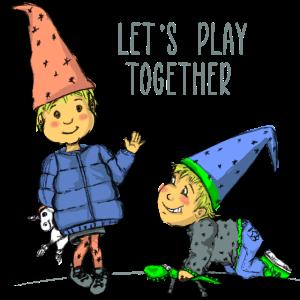Zwerge - Kleinkind - Spielen