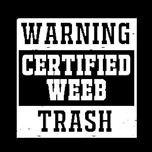 Anime Weeb Trash