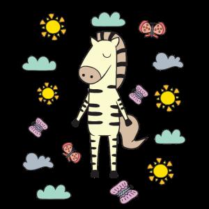 Baby Kinder Zebra I Kleinkind Zebra Motiv