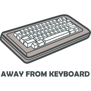 Away From Keyboard Tastatur