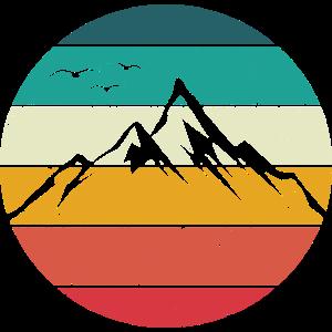 Berge Retro Berg Vintage Wandern Klettern Gebirge