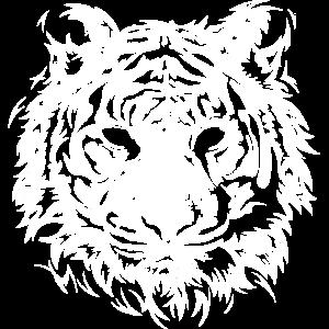 tiger symbol animals tiere illustration