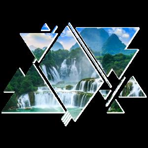 Natur Wald Berge Mountains Wasserfall Abenteuer