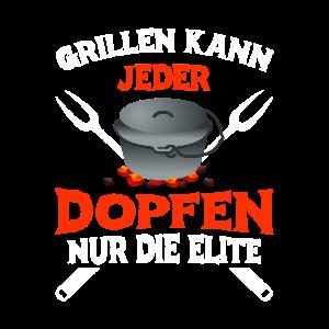Grillen kann jeder Dopfen nur die Elite Dutch Oven
