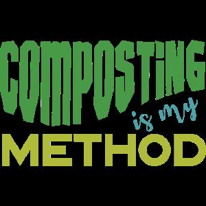 garden, composting is my method -Garten, Kompost