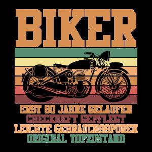 Motorradfahrer 60 Jahre Geschenk 60. Geburtstag