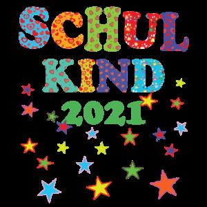 Schulkind 2021 - Tschüss Kindergarten Einschulung