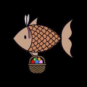Falscher Osterfisch