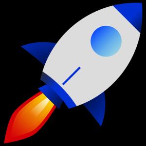 Wallstreet to the moon rocket