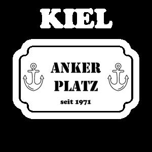 Geschenk Ankerplatz 1971 50ter Geburstag Kiel