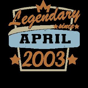 April 2003 18. Geburtstag Volljährig
