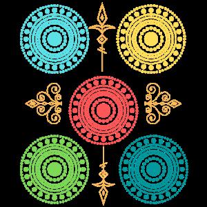 Muster mit Kreisen