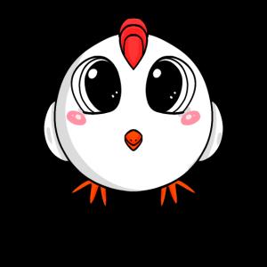 Huhn niedlich knuffig