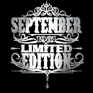 1981 September Geburtstag