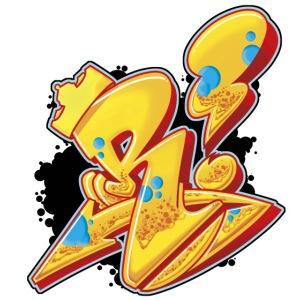 r is king single letter rust pod y