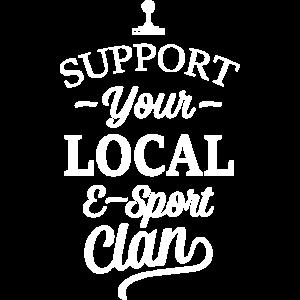 E-Sport Gaming Gilde Local Esport Clan Support