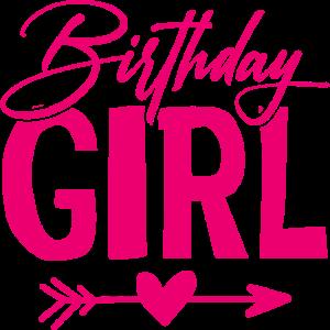 Geburtstag Birthday Girl
