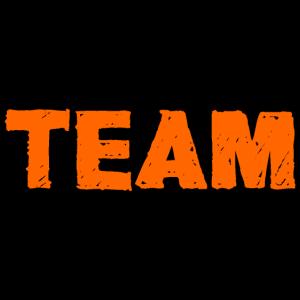 Team, orange