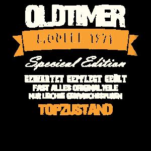 50. Geburtstag Oldtimer 1971 Jahrgang