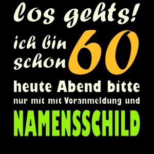 60. Geburtstag - Geschenkidee zum 60. Jahrgang