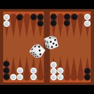 Backgammon Spiel Würfel Spieler Liebhaber