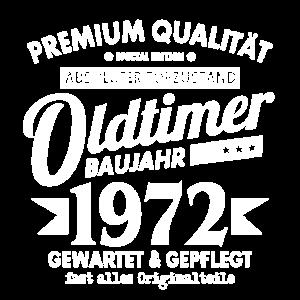 OLDTIMER 1972 LUSTIG 49 JAHRE GEBURTSTAG GESCHENK