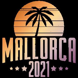 Mallorca 2021 Palme Sonne