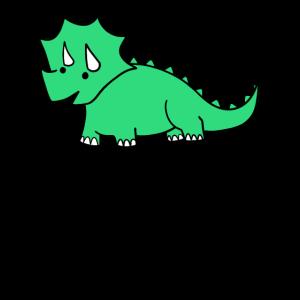 Süßer Dinosaurier knuffig niedlich