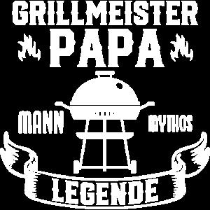 Grillmeister Papa Grillen Vatertag Geschenk