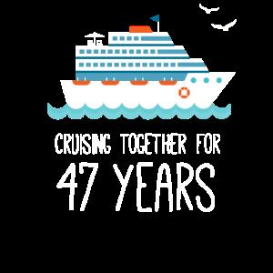 Gemeinsam für 47 Jahre Hochzeitstag