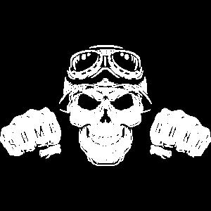 Totenkopf Motorrad Gang Biker Team