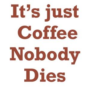 Bara kaffe