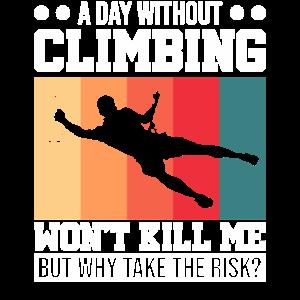 Bouldern Freiklettern Bergsteiger Klettern