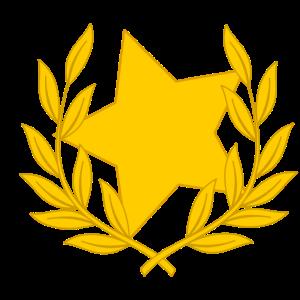 Lorbeerkranz Stern Star Sternchen Glückwunsch
