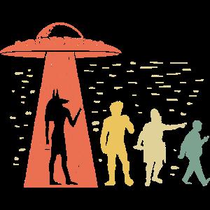 Ancient Astronaut Theorie Geschenk für