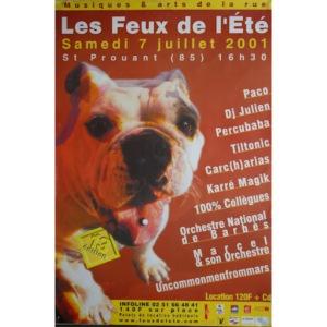 Affiche 2001