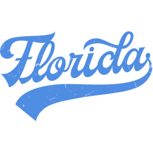 Florida Ozean Blue Vintage