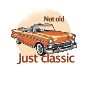 Vintage Custom Not old Just Classic