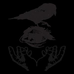 The Dream Hope of Raven Gothic T-Shirt Raben Shirt