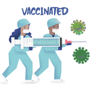 Vaccinated from Covid
