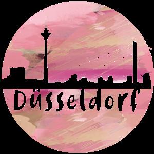 düsseldorf,skyline ,duesseldorf graffiti, malerei
