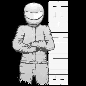 Simracer, Simracing Driver und Schriftzug