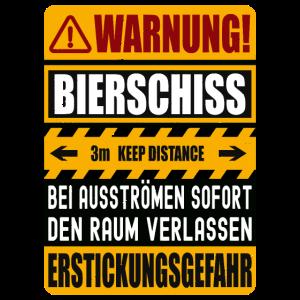 Bierschiss Warnug