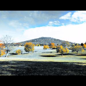 Berg im Herbst