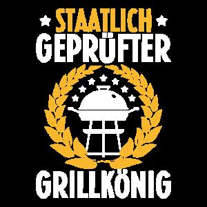 Grillen Grillmeister Grillkönig Grill Geschenk